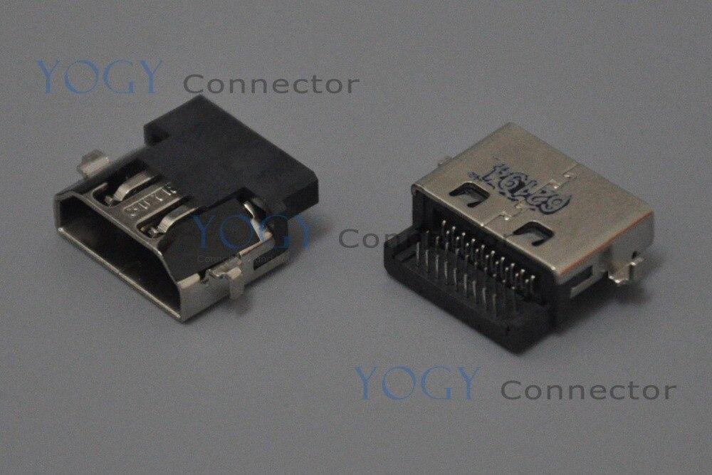 10x HDMI, ajuste de clavija para Dell Inspiron 15 1564 1464 HP Pavilion G6-1000 serie G6-1B, placa base para ordenador portátil, Puerto conector hdmi hembra