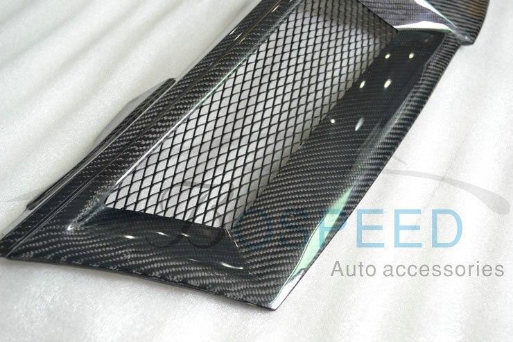 Front Car  Grill Car grille for Nissan Livina  carbon fiber   Racing Grills  grille
