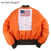 2020 hiver Vintage surdimensionné MA-1 streetwear hip hop militaire manteaux vêtements double côté bombardier vol air force pilote veste hommes