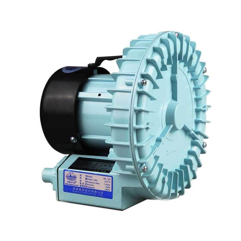 90 Вт 200л/мин SUNSUN высокого давления кислородный воздушный насос для аквариума гидропоники пруда септик воздушный компрессор 10 воздуходувка