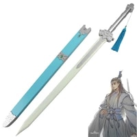 chinese wooden sword the founder of diabolism lan wangji comic props wooden prop mo dao zu shi