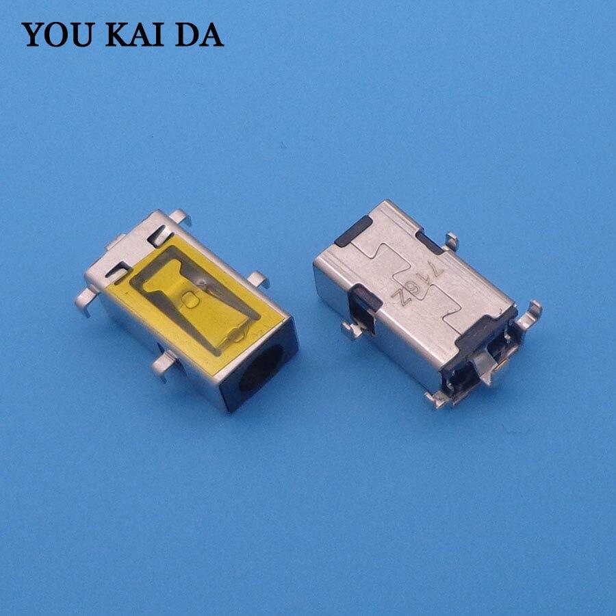 10pcs Laptop DC power jack charging port connector for Lenovo Ideapad 100-14IBD 100-15IBD 310-14ISK B50-50  free shipping