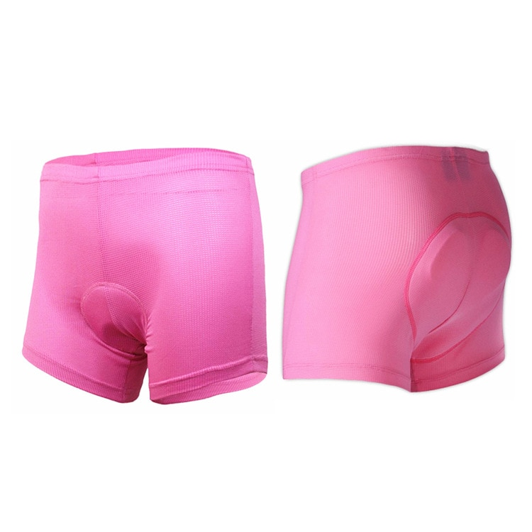 Ropa interior de ciclismo para mujer, pantalones cortos para bicicleta de montaña, ropa interior deportiva para ciclismo, mallas cortas de compresión con relleno 5D