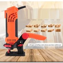 Handheld Woodworking Trimming Machine Eectric Power Wood Tool Renovator Edge Banding Slot Forming Carving Trimmer MK-650D
