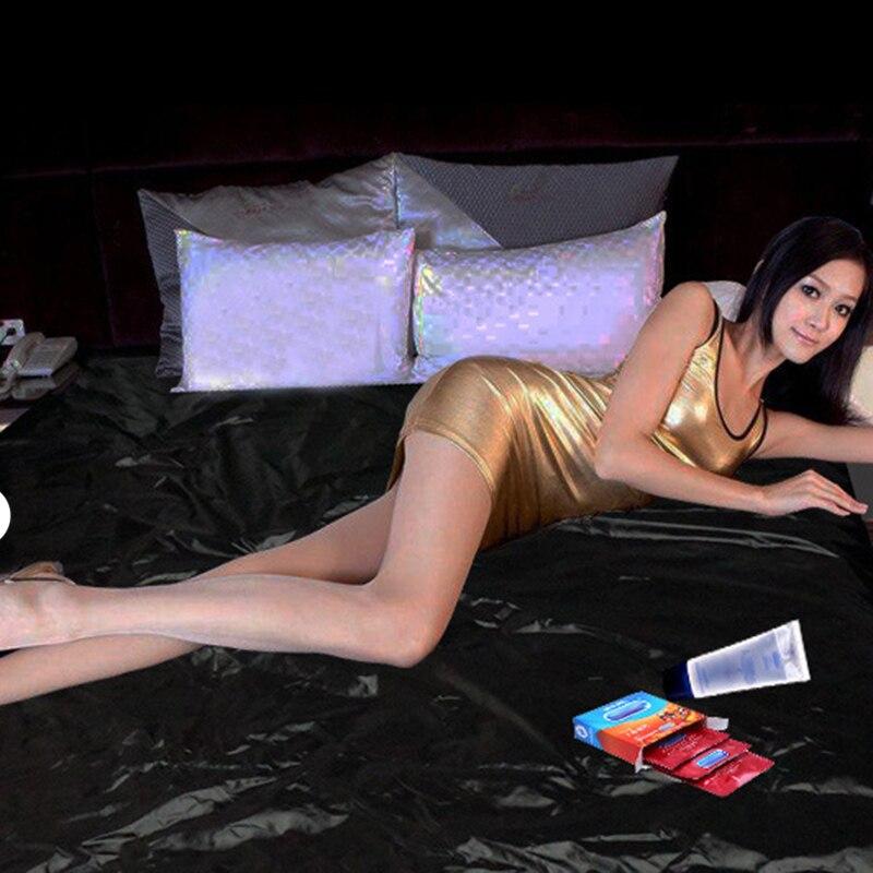 Preto flertar à prova dwaterproof água folhas adulto sexo folha de cama melhorar o jogo do sexo cama erótico folhas de capa de cama adulto produto exótico brinquedos do sexo