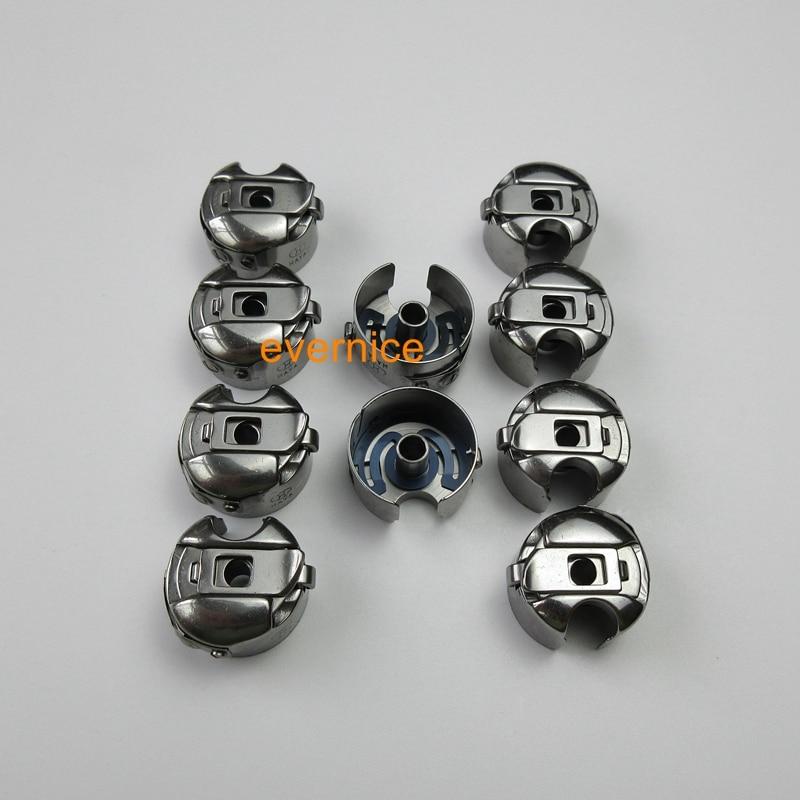 10 STÜCKE SPULE FÄLLEN für Janome 1600 P 1600P-DB 1600P-DBX, DB-701