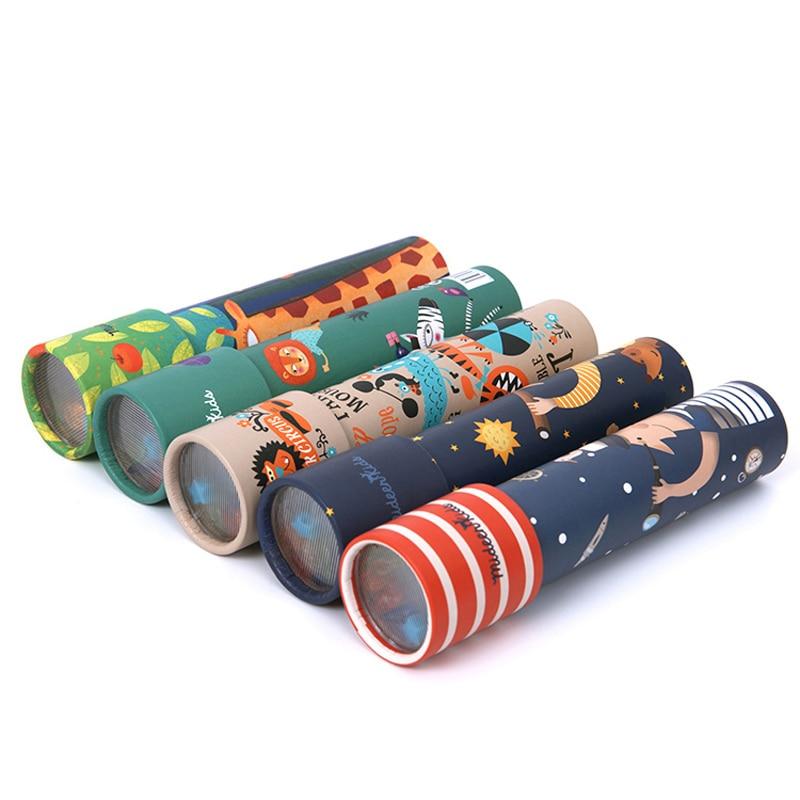 Juguetes de madera para niños, caleidoscopio mágico, juguetes giratorios de color para niños, regalos para niños en edad preescolar, clásico educativo