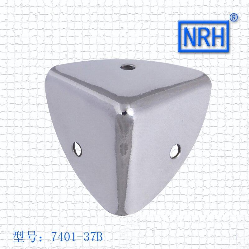 Carcasa de madera angular para vuelo, material metálico, ángulo de esquina 7401-37B