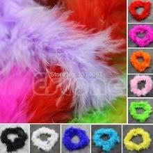 E74 1 Pc Erschillende Kleuren 2Meter Marabou Boa Voor Burlesque Boas Fancy Dress Party