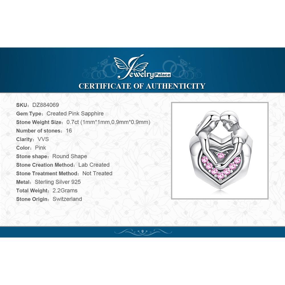 Купить с кэшбэком JewelryPalace Faithful Love 925 Sterling Silver Beads Charms Silver 925 Original For Bracelet Silver 925 original Jewelry Making