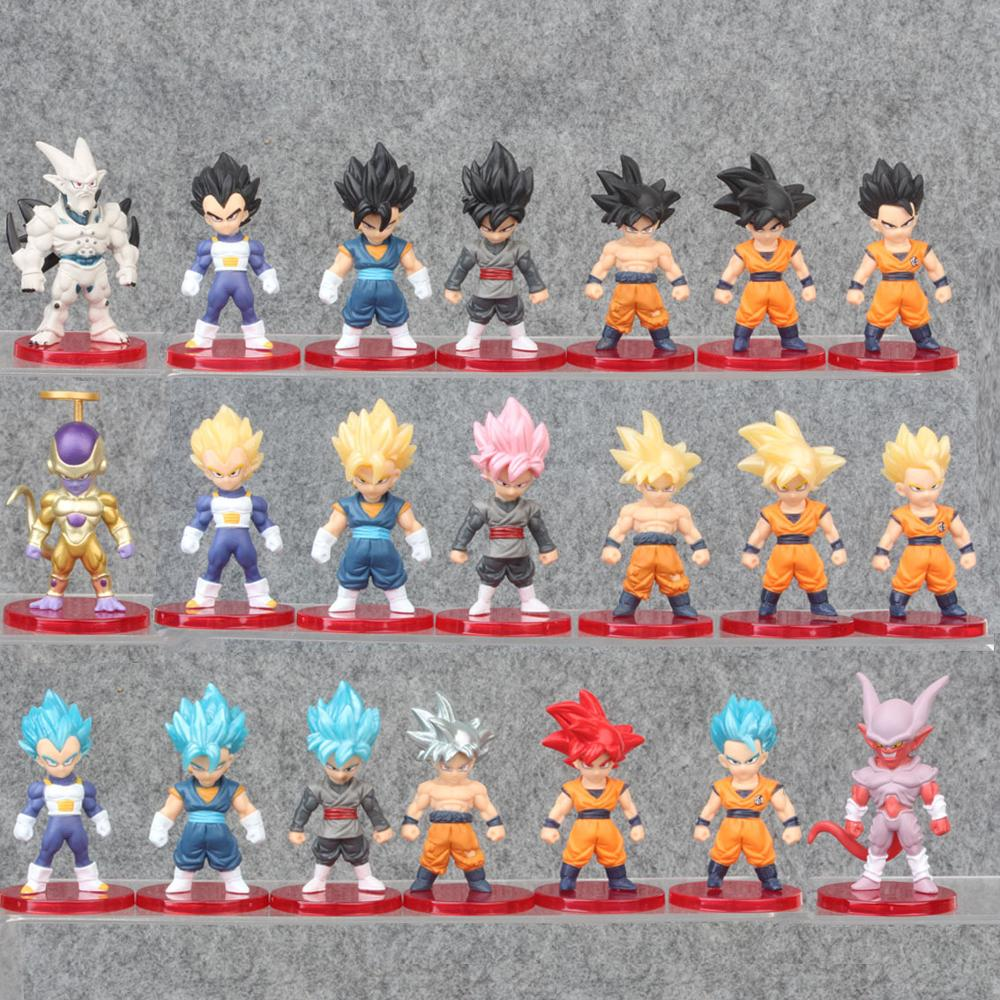 "52 estilos de amina Figma Mini de GOKU de Dragon Ball Z freezer dorado gran VEGETA Zamasu ""mono vinilo figura de acción de juguete de modelos coleccionables"