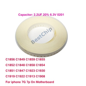 C0705 C0806 C0805 C0901 C0900 C1013 C1001 C1466 C1448 C1449 C1507 C1529 C1511 C1515 C1522 C1519 For iphone 7 7plus on Logicboard