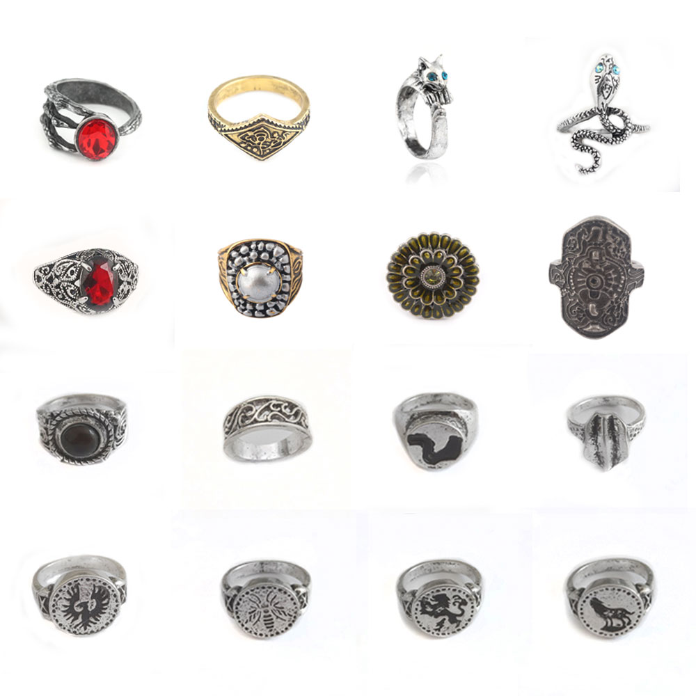 Кольцо с кольцом Dark Souls для мужчин и женщин, кольцо из стерлингового серебра с драконом и зубом