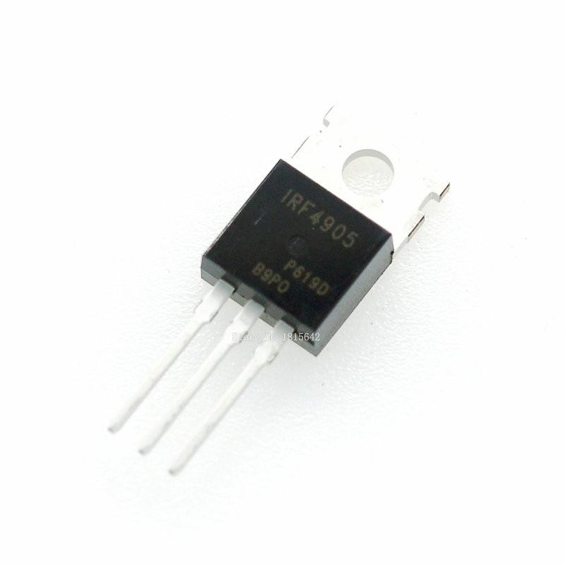10 unids/lote IRF4905 IRF4905PBF-220 MOS FET canal P efecto de campo 74A 55V 200W original nuevo transistor triodo