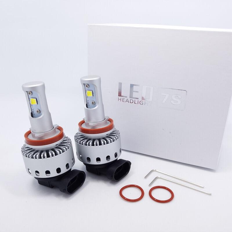 1 Pair Automotive LED headlamp 7S super bright 40W far and near focus H3H4H7H119005 refitted bulb