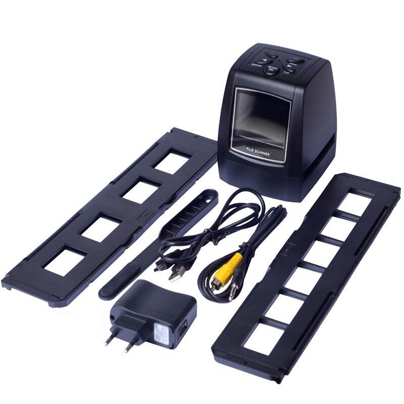 REDAMIGO 5MP 10MP 35mm escáner de película portátil foto Scaner película negativa visor escáneres USB MSDC película monocromática 718U