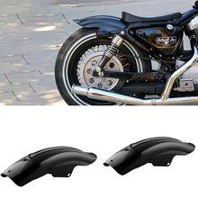 Garde-boue arrière de moto noir   Accessoire pour garde-boue arrière, Bobber Racer accessoires de moto pièces, cadres, raccord universel