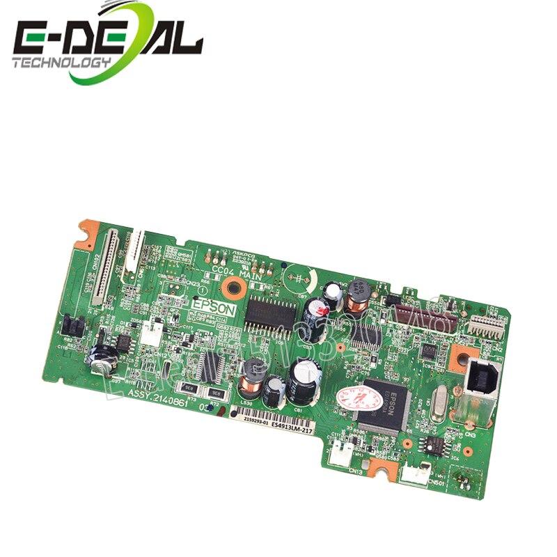 E-lidar ASSY Placa Do Formatador Placa lógica Principal FORMATTER PCA MainBoard mother board para peças de impressora Epson L565 L485