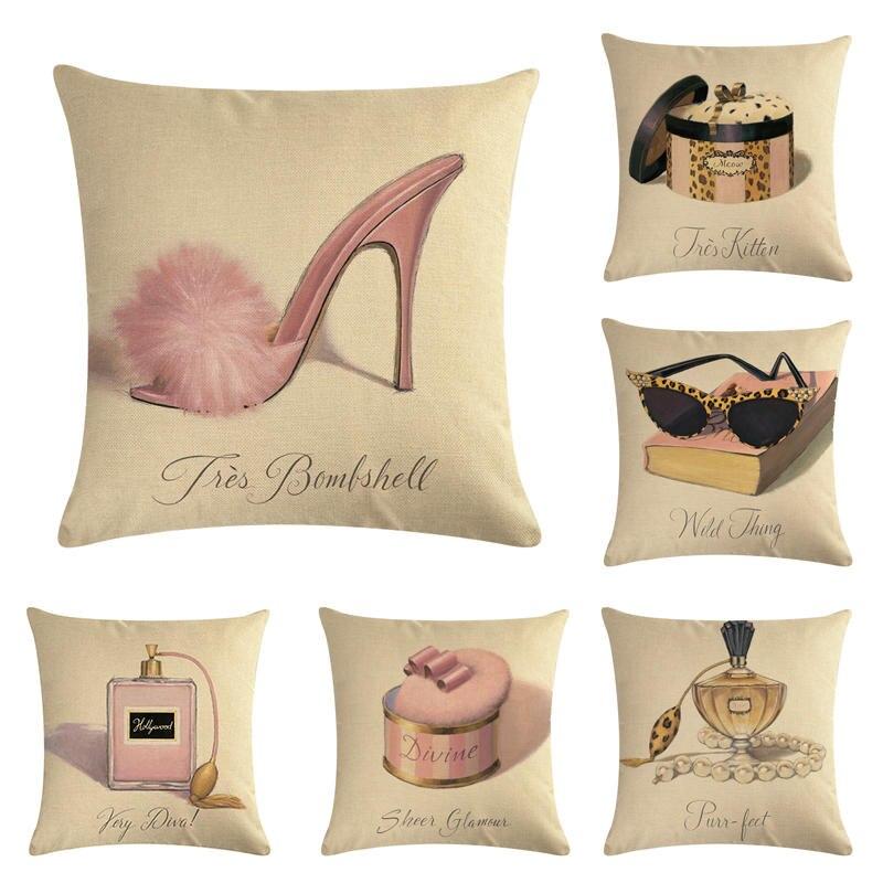 Cojines de las mujeres del mundo. 6 HomerDecor tiro funda de cojín funda de almohada fundas de almohada de 45*45cm sofá asiento cojín decorativo