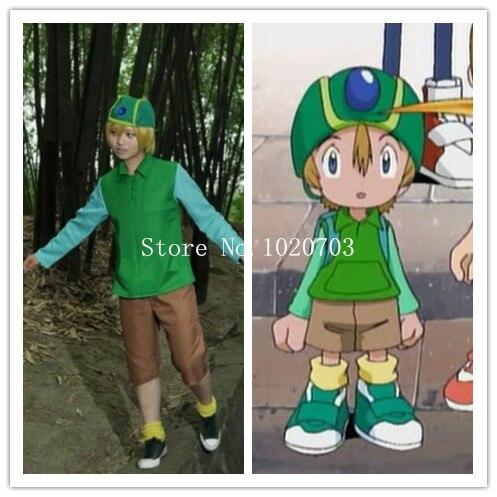 Digimon Adventure Takaishi Takeru t.K Takaishi Cosplay