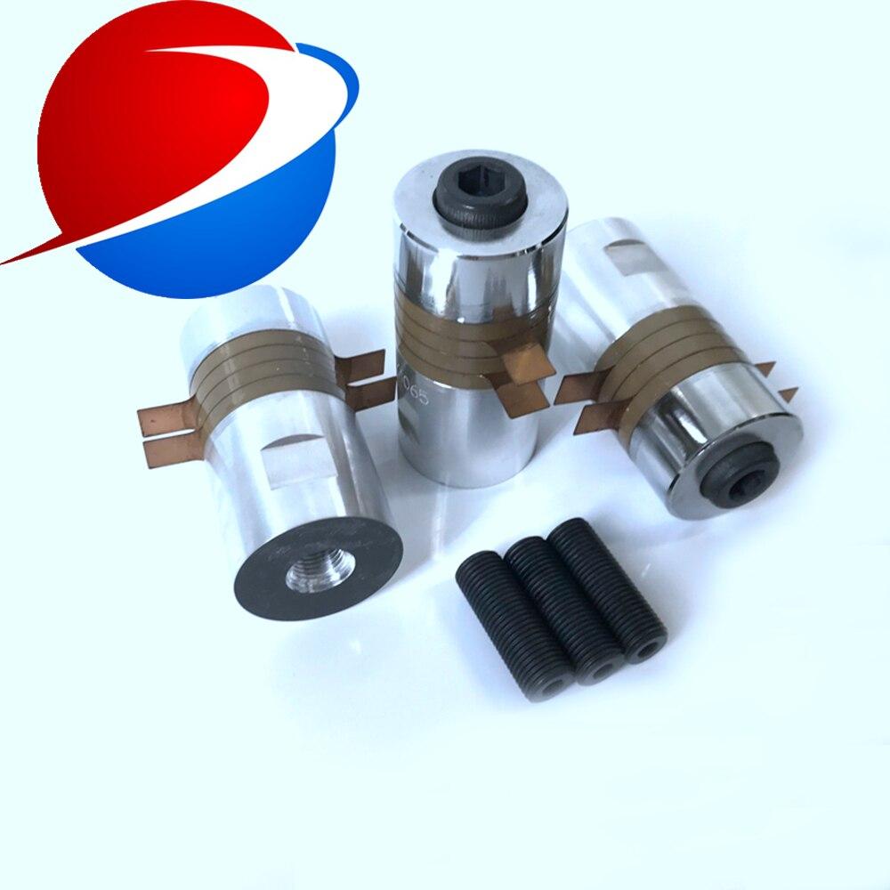 Alta energia ultra-sônica transdutor 600 W para PVC PP PE material plástico máquina de solda 28 khz ultra-sônica transdutor