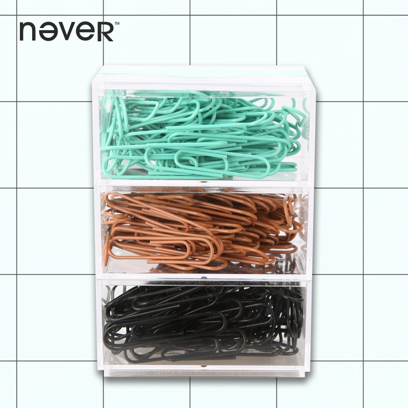 Nunca moda metal clipes de papel memo titular klips acessórios de escritório criativo-presentes caderno diário marcador de papelaria loja