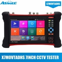 hot 19201200 7 touch screen cctv tester monitor h 265 4k ip camera tester hdmi input 6 in 1 cctv tester pro ipc x7 movtadhs