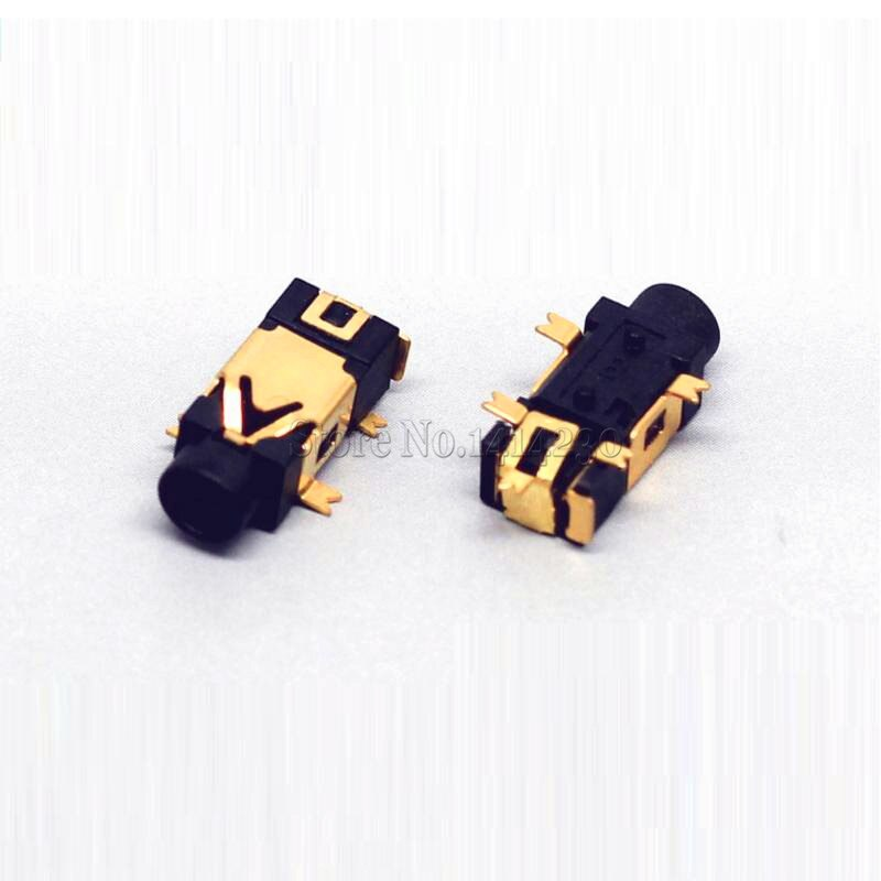 10PCS Headphone socket 2.5 Audio socket PJ-209 5 Pin SMD Belt column 2.5 Headset Female seat