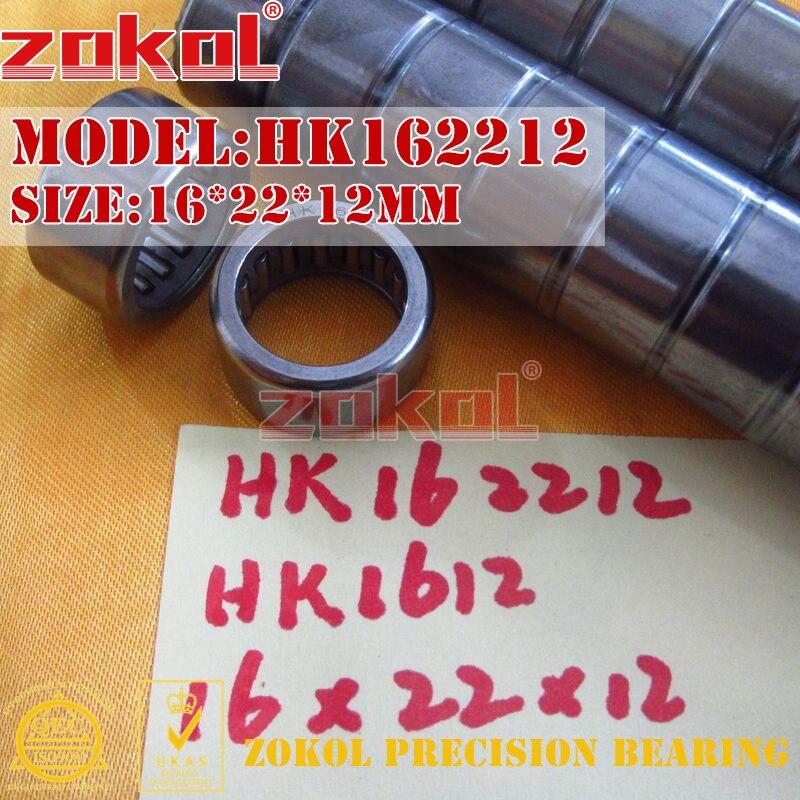 ZOKOL bearing HK1610 HK1612 HK1614 HK1616 HK1620 HK1622 Needle Roller Bearing 16*22*10/12/14/16/20/22mm