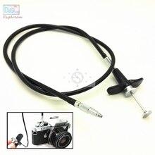 28 70 cm verrouillage mécanique caméra déclencheur déclencheur télécommande câble cordon pour Fuji Fujifilm Pentax Canon Nikon Film caméras