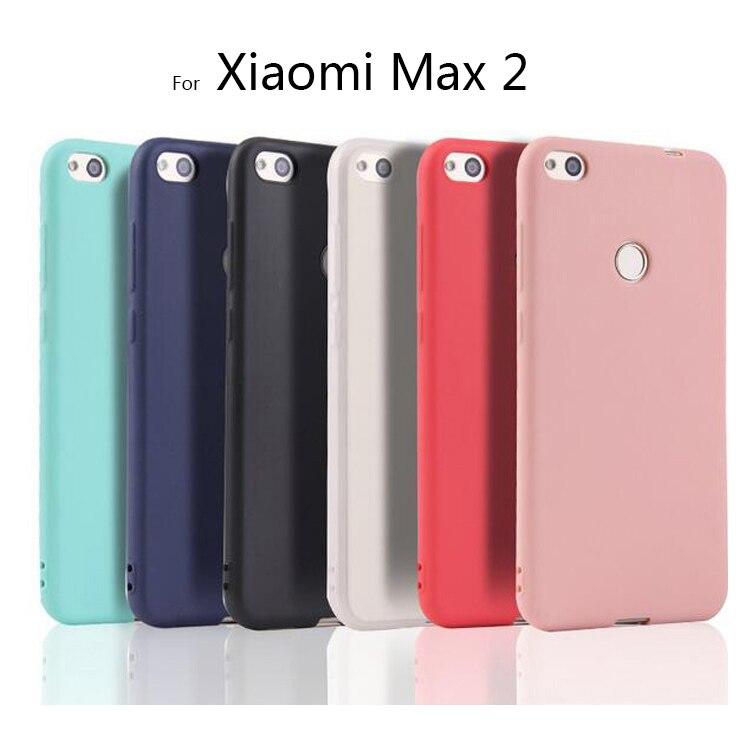 Para funda Ricestate para Xiaomi Max 2 Mi Max2 suave silicona mate Coque Fundas funda trasera de TPU para Xiaomi MAX 2 funda suave