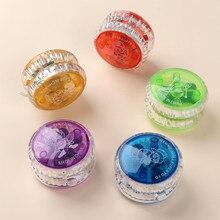 1pc magique Yoyo balle jouets colorés en plastique luminescents jouets pour bébé garçons filles enfants enfants classique drôle coloré jouets cadeaux