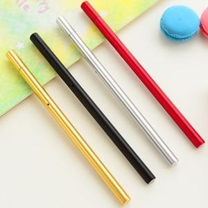 20Pcs Kawai South Korea Stationery Store Gel Ink pen Creative Water Pen Black Signature Pen Set for School Things