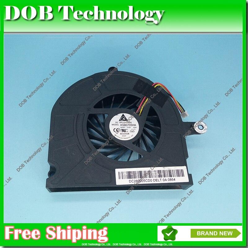 Охлаждающий вентилятор для ноутбука Toshiba Qosmio X300 X305-Q705 X305 вентилятор KB0705HA-8A83 AB0905HX-S03 (F295-HK) 3 PIN