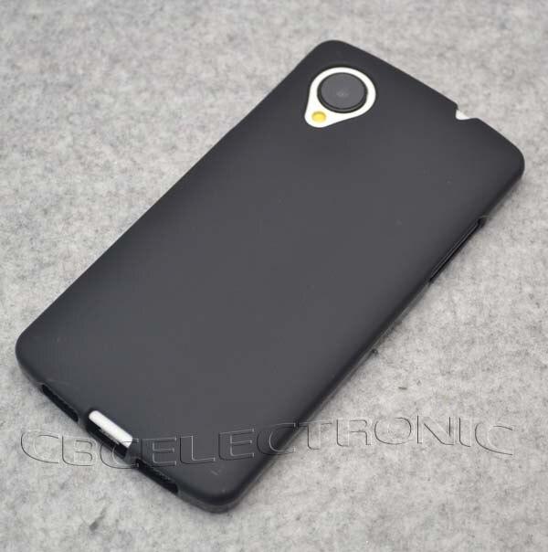 Новый матовый гелевый Чехол из ТПУ, мягкий силиконовый чехол для задней панели телефона LG Google Nexus 5 E980