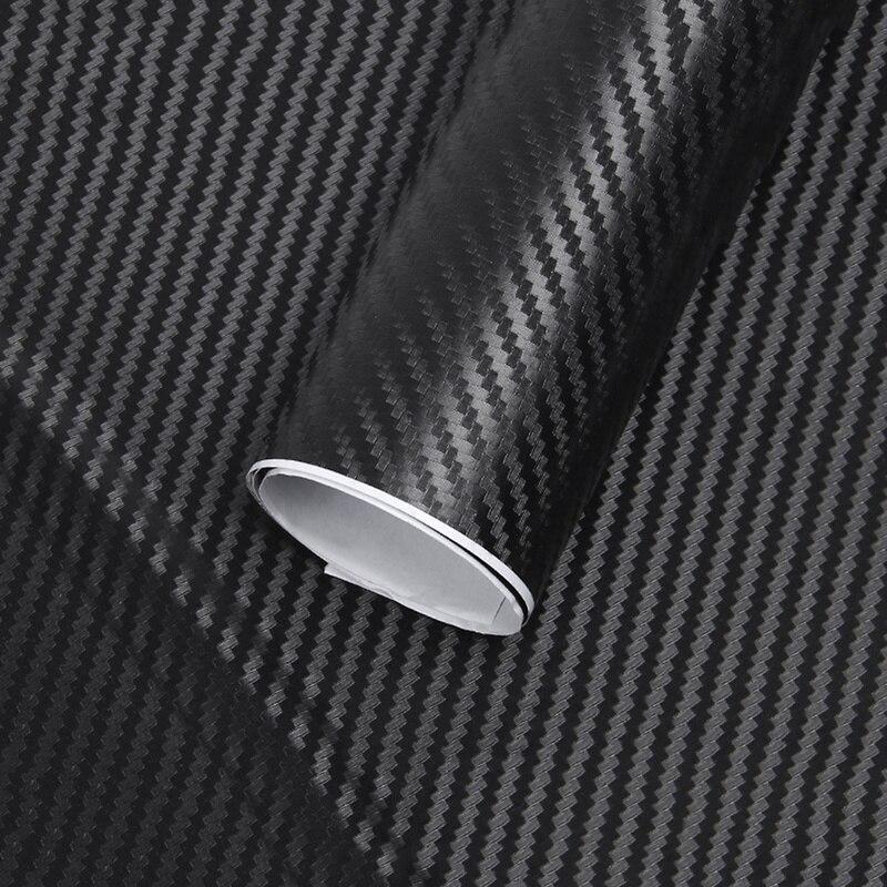 127cm * 10cm Wasserdichte Auto Styling Wrap Carbon Faser Vinyl Film Auto Aufkleber für Auto Fahrzeug Detaillierung Zubehör auto Aufkleber