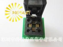 Prise de programmeur de puce TQFP32 QFP32/LQFP32 à DIP28 prise de courant adaptateur série ATMEGA8