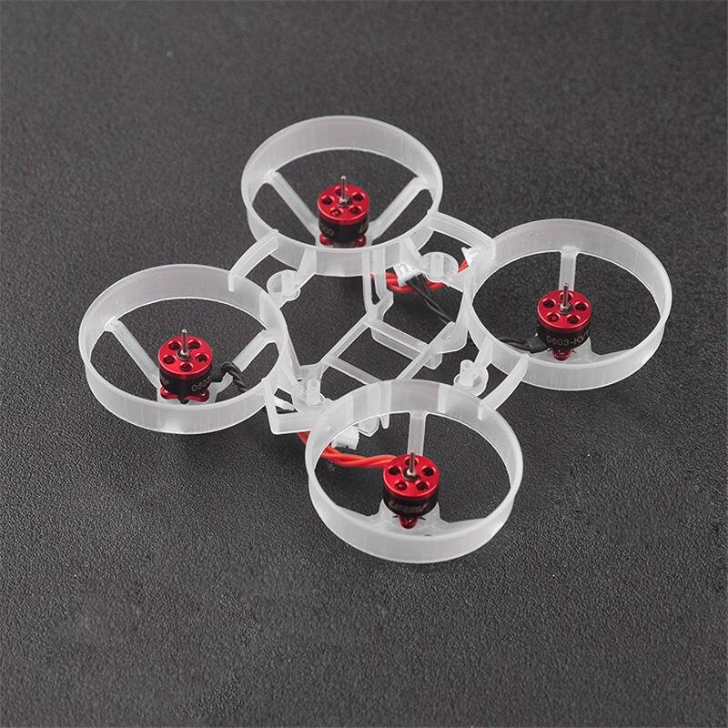 URUAV UR65 Dron de carreras con visión en primera persona pieza de repuesto 65mm Kit de marco para modelos RC Multicopter DIY accesorios de repuesto Accs