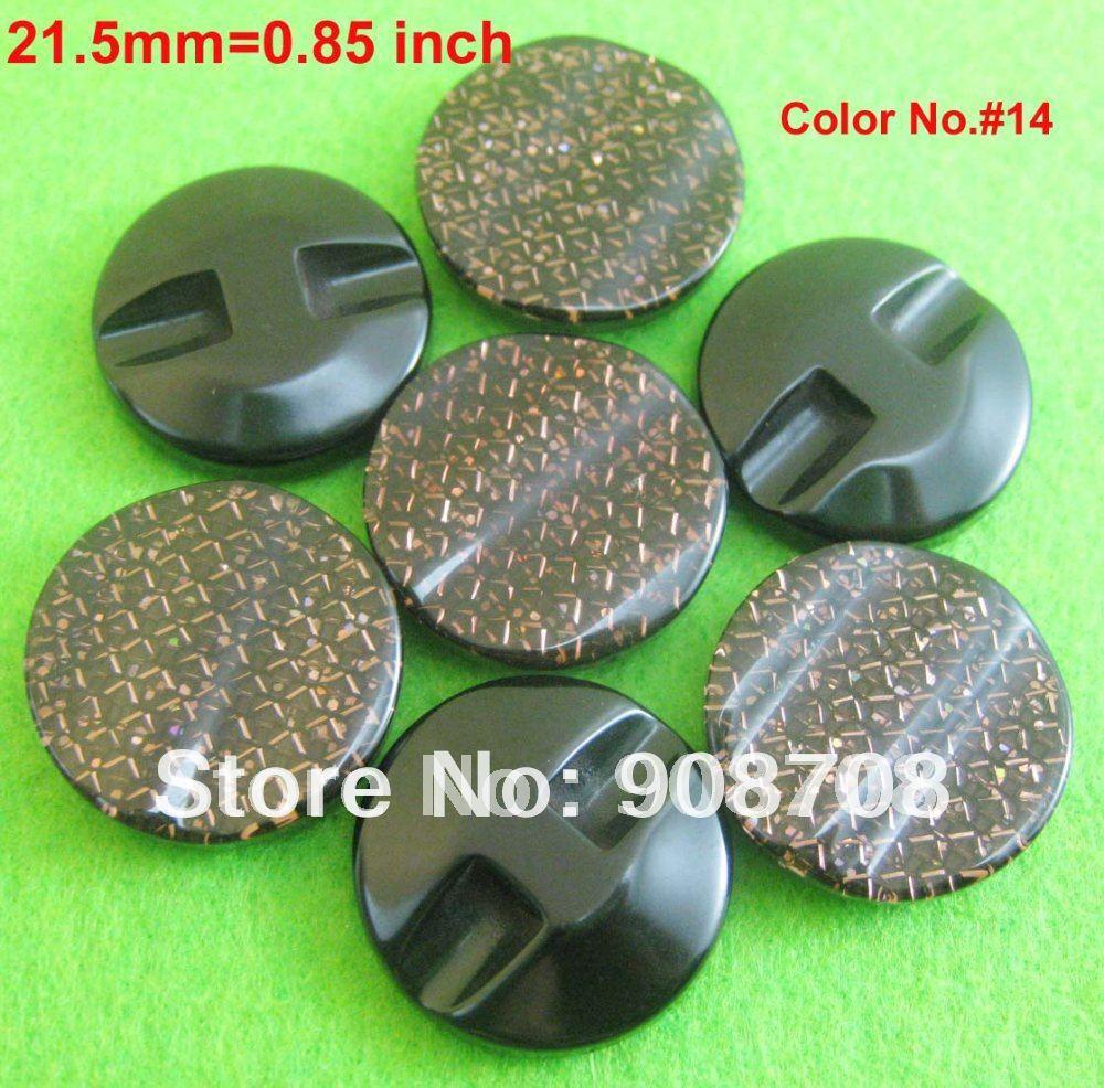 H0188 botones de ropa 50 piezas diámetro 21,5mm y 0,85 pulgadas Color #14 accesorios de botones de ropa