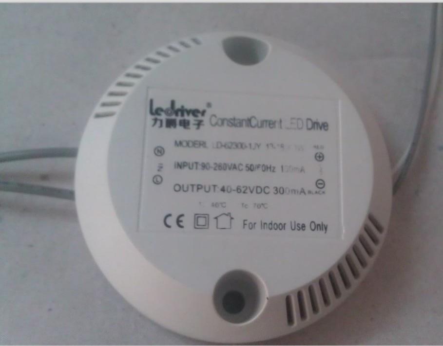 Free Shipping 100PCS FEDEX 13-18pcs 1w 13-18w 90-260V Home Light LED Power Supply Driver Electronic Transformer White
