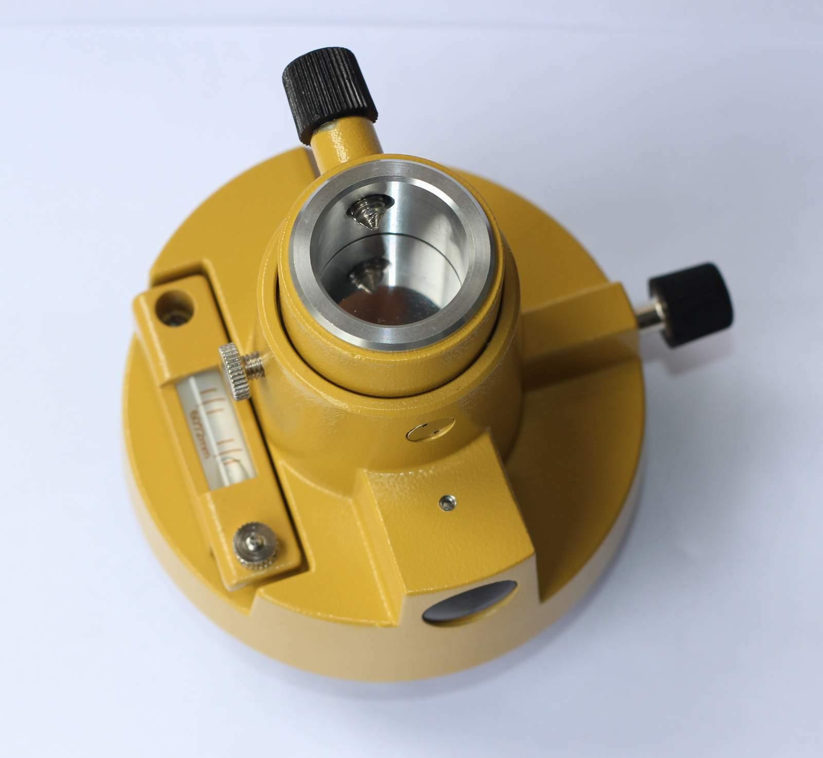 Adaptateur TOPCON TRIBRACH jaune à trois mâchoires sans optique, pour STATIONS totales