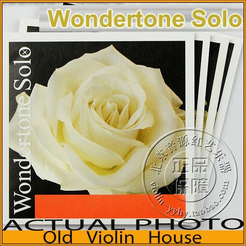 Pirastro Wondertone Solo Violin Strings full set 4/4 (410521) ,made in Germany,Hot sell
