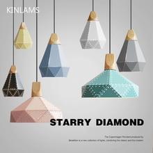 Lampes suspendues en bois salon avec abat-jour, design moderne, éclairage nordique pour la maison, bar, restaurant
