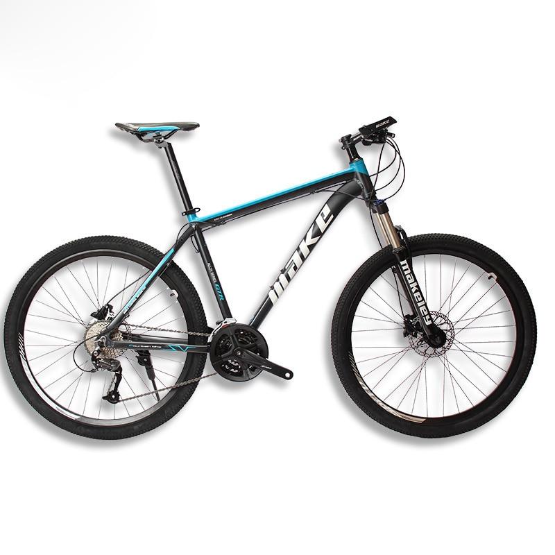"MAKE Mountain Bike Aluminum Frame SHIMAN0 AItus 27 Speed 26"" 27,5""29  Wheel Hydraulic/Mechanical Brake"