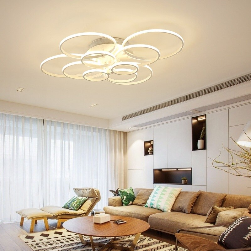 Ultra-delgada anular de LED externa de Techo Luz residencial interior y comercial/lámparas de techo de oficina accesorio de iluminación