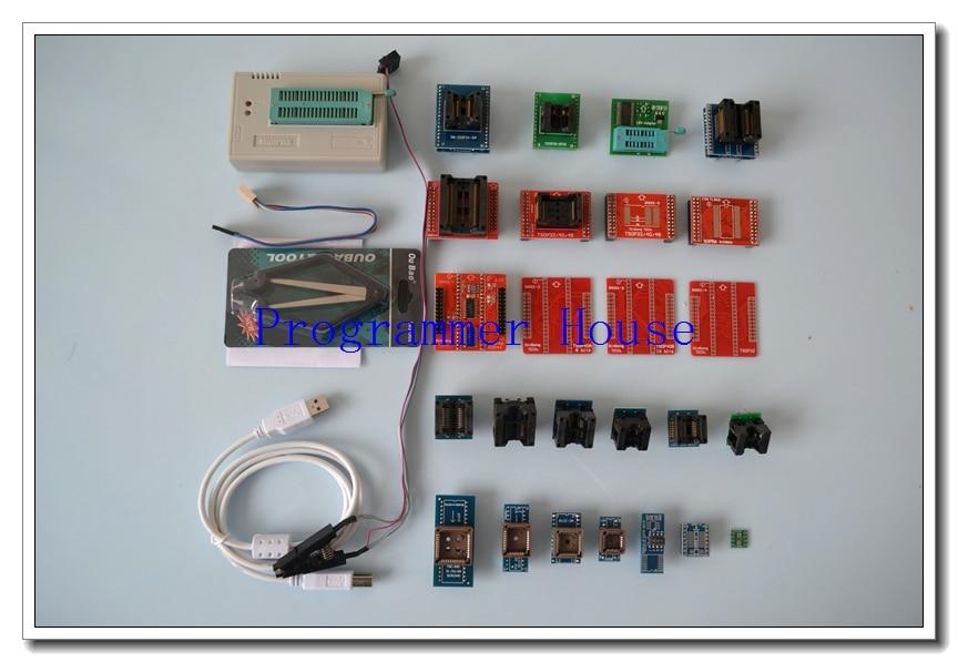 شحن مجاني V10.41 XGECU TL866A TL866II Plus Universal minipro مبرمج TL866 nand flash AVR PIC Bios USB مبرمج + 27 محول