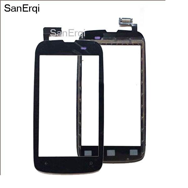 Para Nokia Lumia 610 N610 pantalla táctil digitalizador Sensor cristal pantalla Monitor