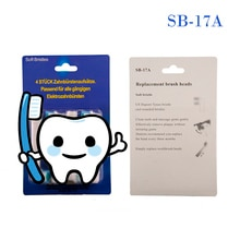 40 Uds cabezales de cepillo de dientes eléctrico Oral BA SB17A EB18A EB25A EB50A EB10A SB20A EB17A SB417A EB30A S32-4 SR12A.18A EB17S EBS17A