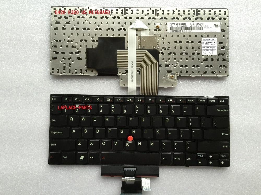 Laplace New Genuine US keyboard for Lenovo Thinkpad E320 E420 E420S E325 E425 FRU:04W0810