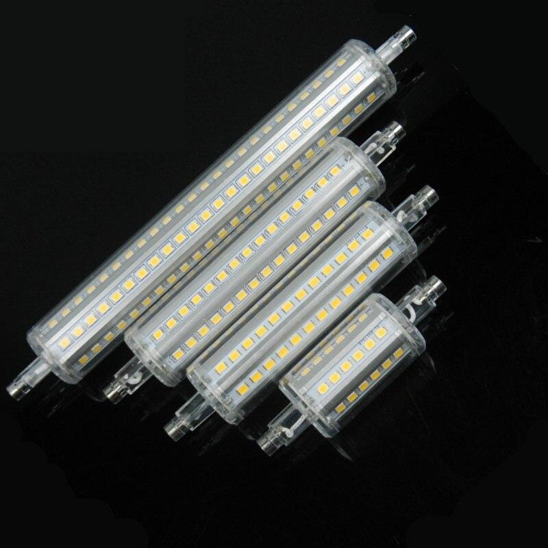 Silicone R7S LED Lamp AC 85-265V  LED BULB 5W 10W 12W 15W 2835 SMD  Ampoule  Remplacer Halogene Bombillas 360